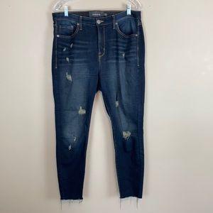 Torrid Sky High Skinny Distressed Jeans